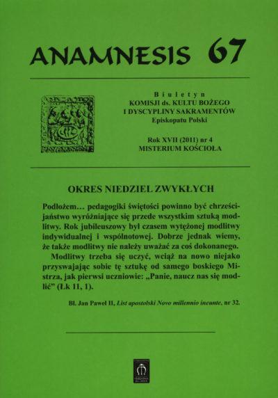 Anamnesis 67