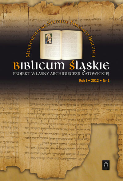 Biblicum Śląskie Rok I 2012 Nr 1