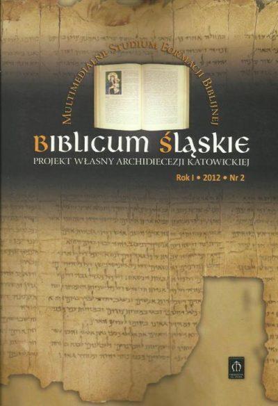 Biblicum Śląskie Rok I 2012 Nr 2