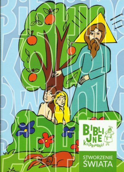 Biblijne kolorowanki STWORZENIE ŚWIATA