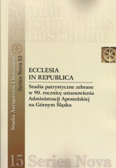 Ecclesia in Republica