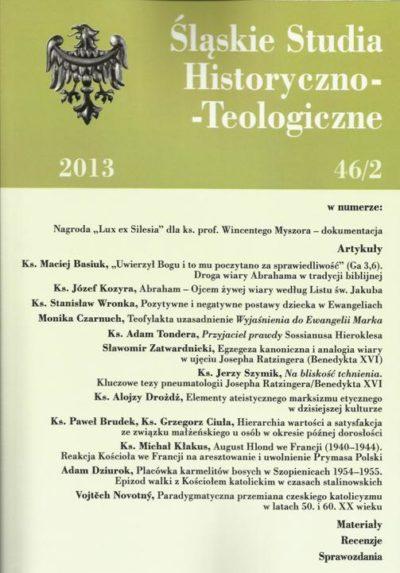 Śląskie Studia Historyczno-Teologiczne 46/2 2013