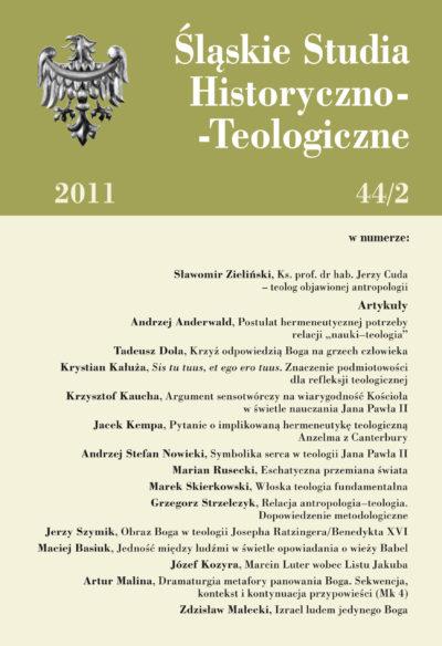 Śląskie Studia Historyczno-Teologiczne 44/2 (2011)