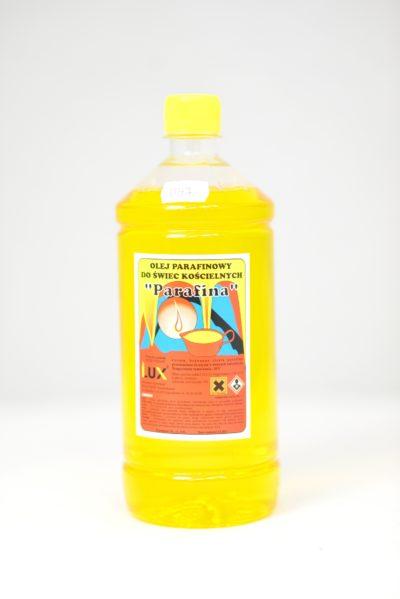 Olej parafinowy do świec kościelnych (żółty)
