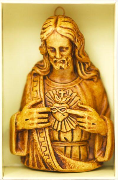 Serce Jezusa - relief