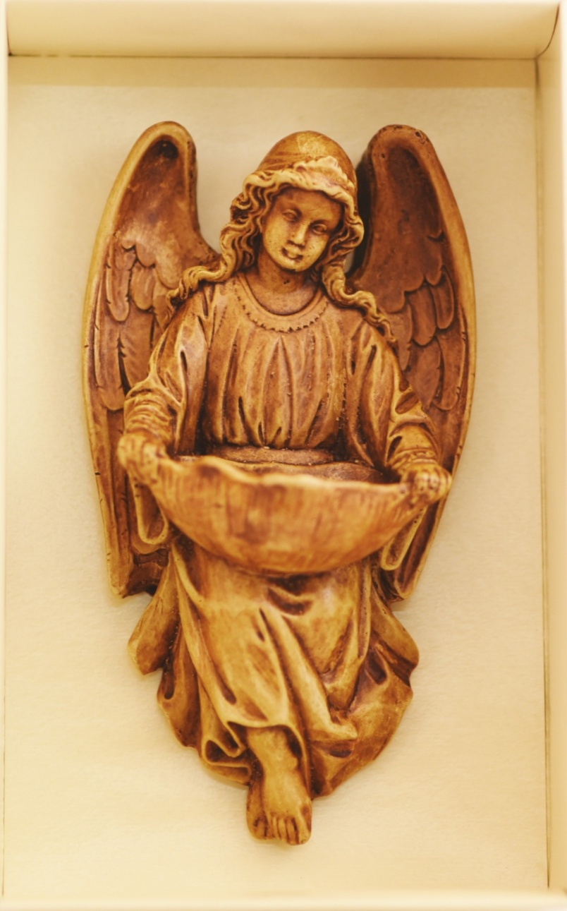 Anioł - relief