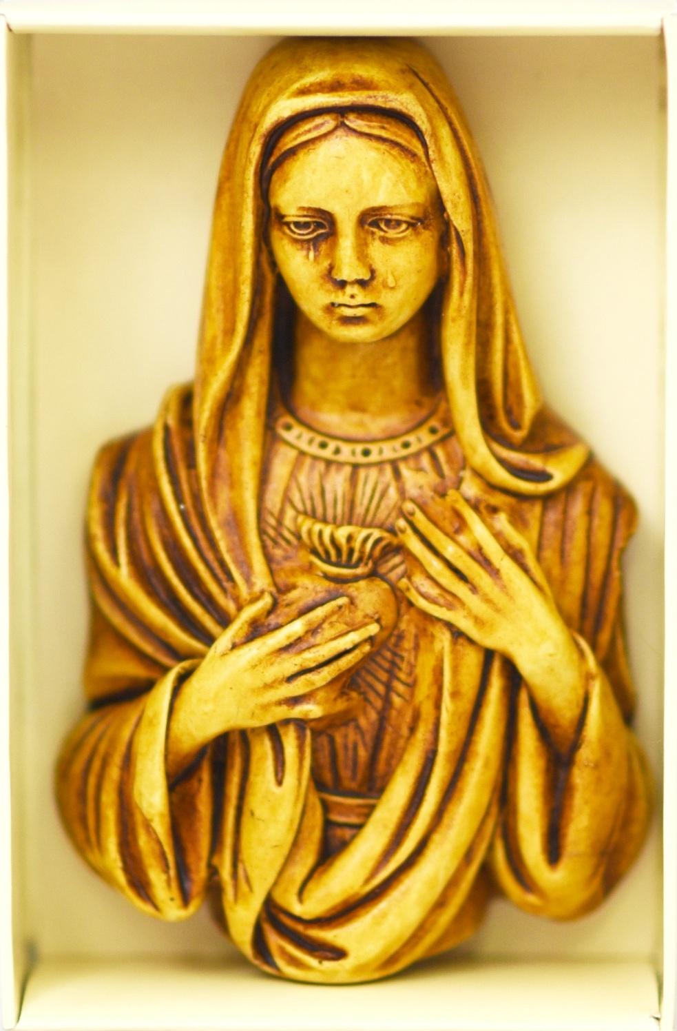 Serce Maryi- relief