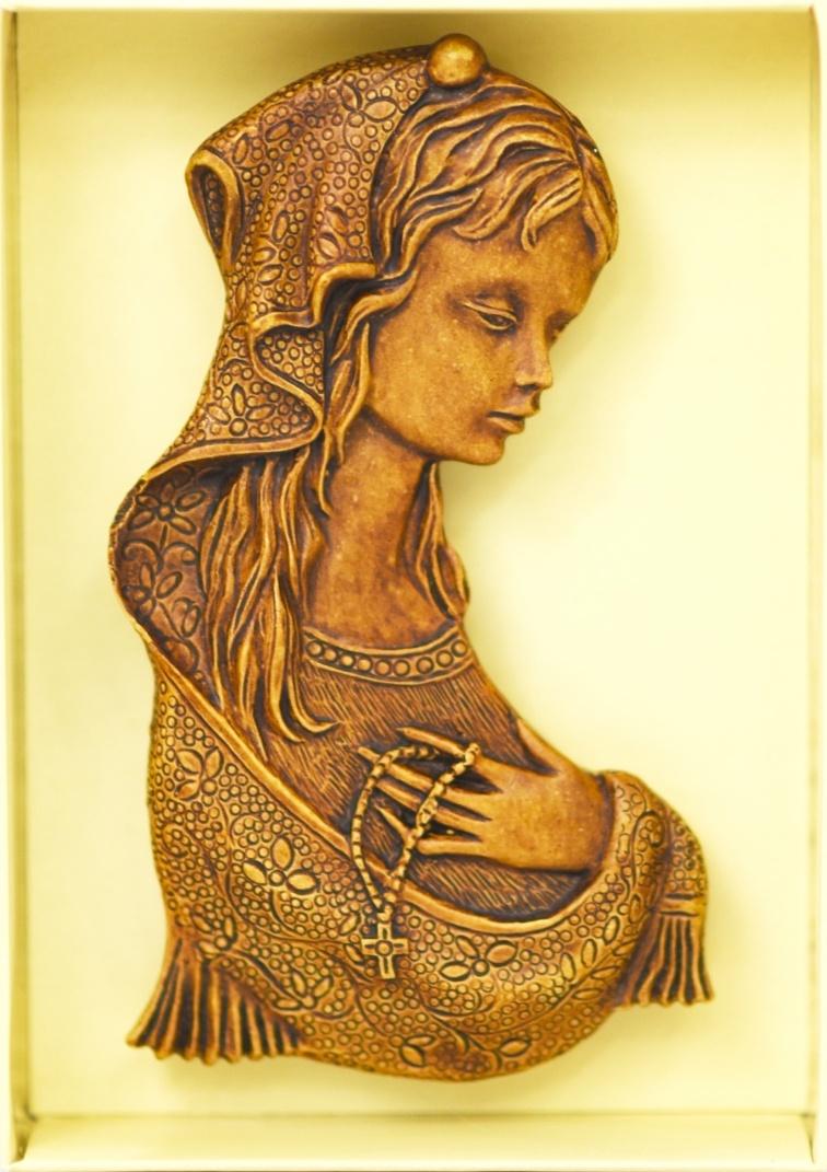 Matka Boża - relief