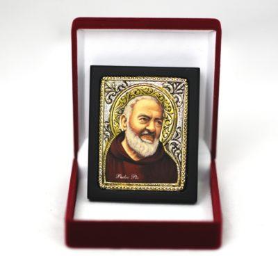 Ikona w pudełku św. Ojciec Pio