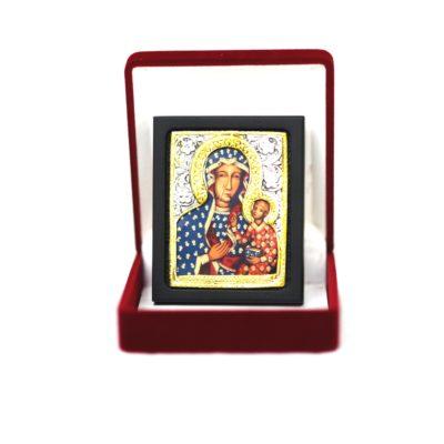 Ikona w pudełku Matka Boża Częstochowska