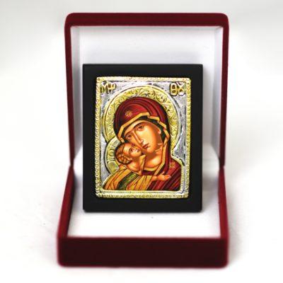 Ikona w pudełku Matka Boża