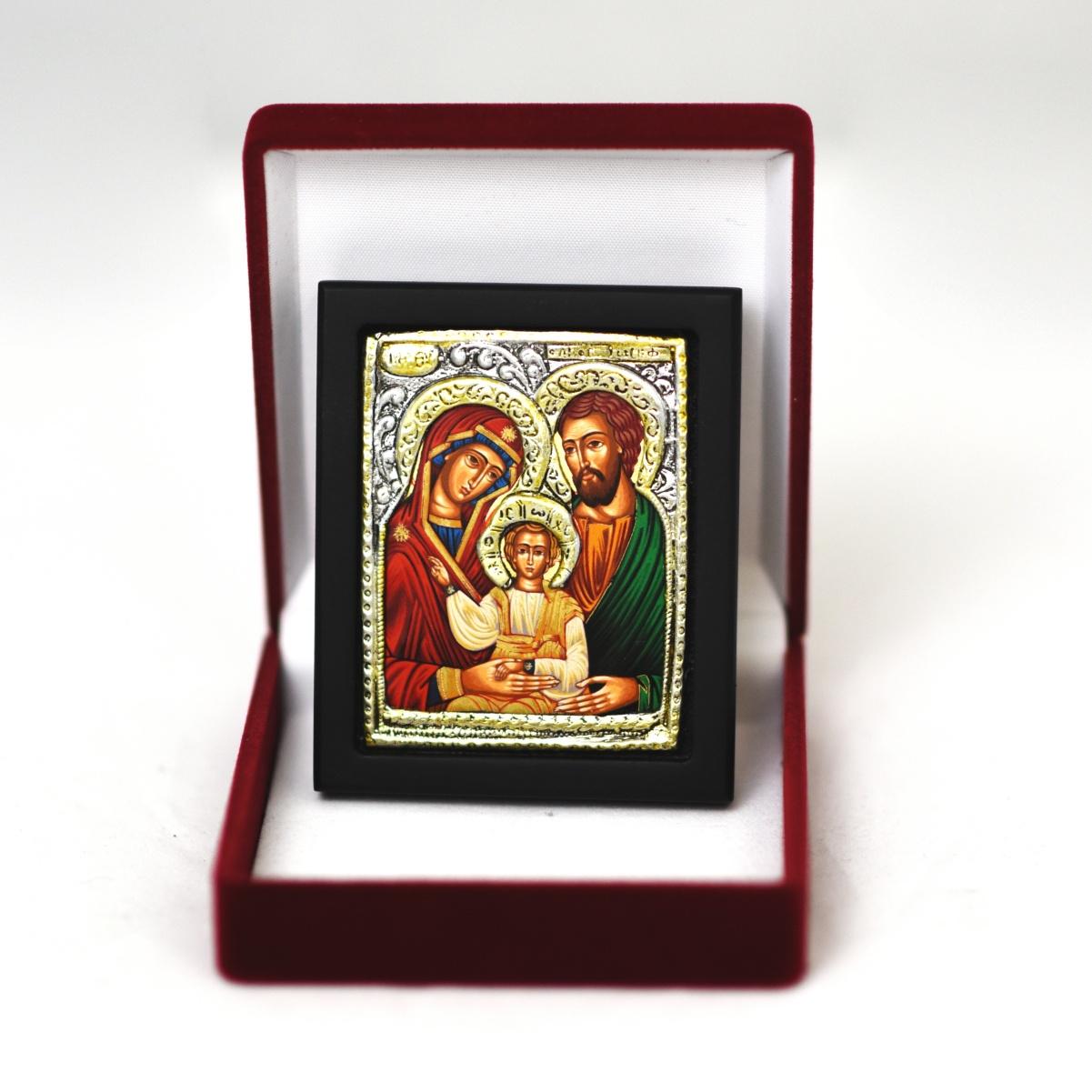 Ikona w pudełku Święta Rodzina
