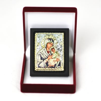 Ikona w pudełku Matka Boża Nieustającej Pomocy