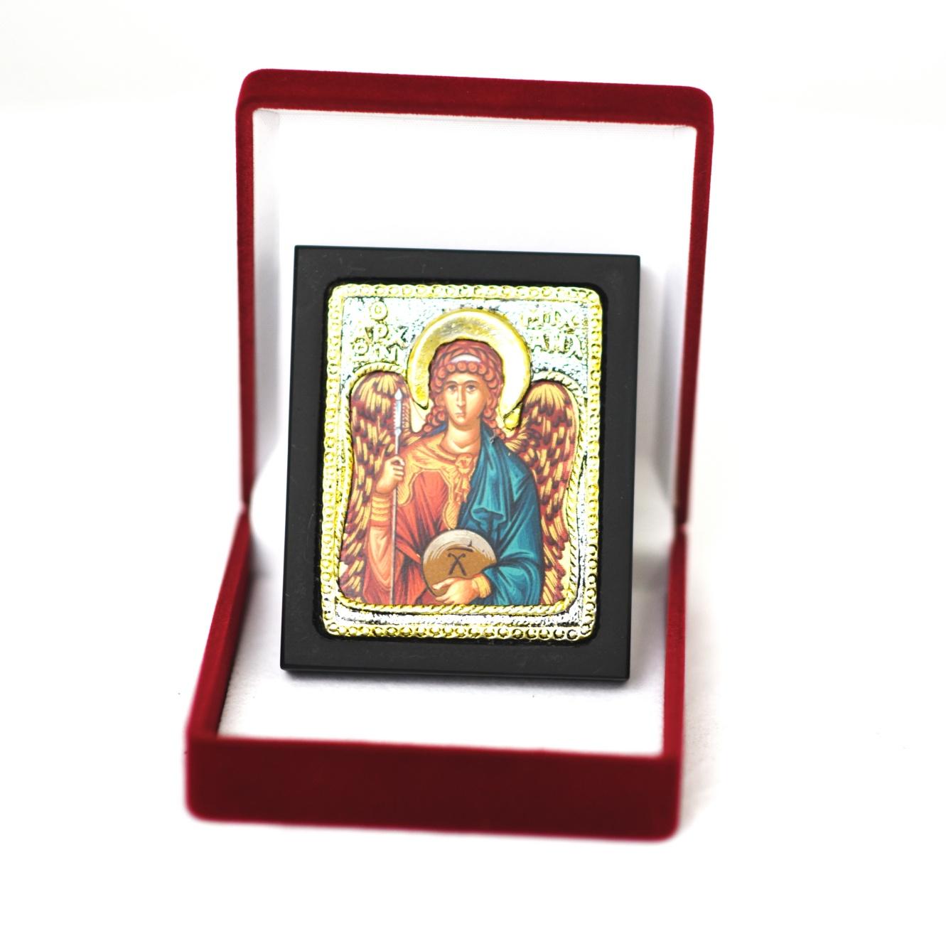 Ikona w pudełku Michał Archanioł