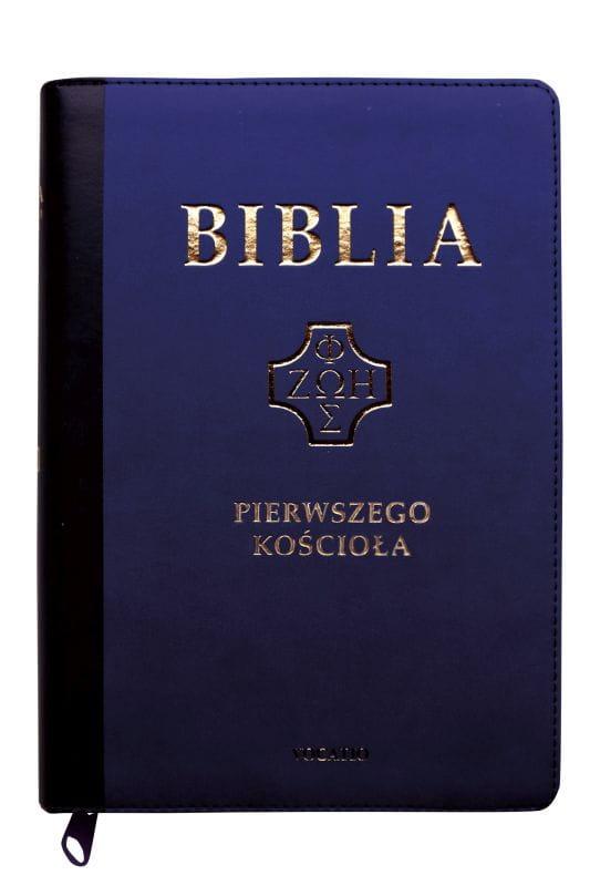 Biblia Pierwszego Kościoła - granatowa