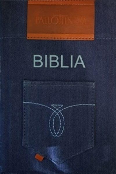Pismo Święte ST i NT  (jeans z paginatorami)
