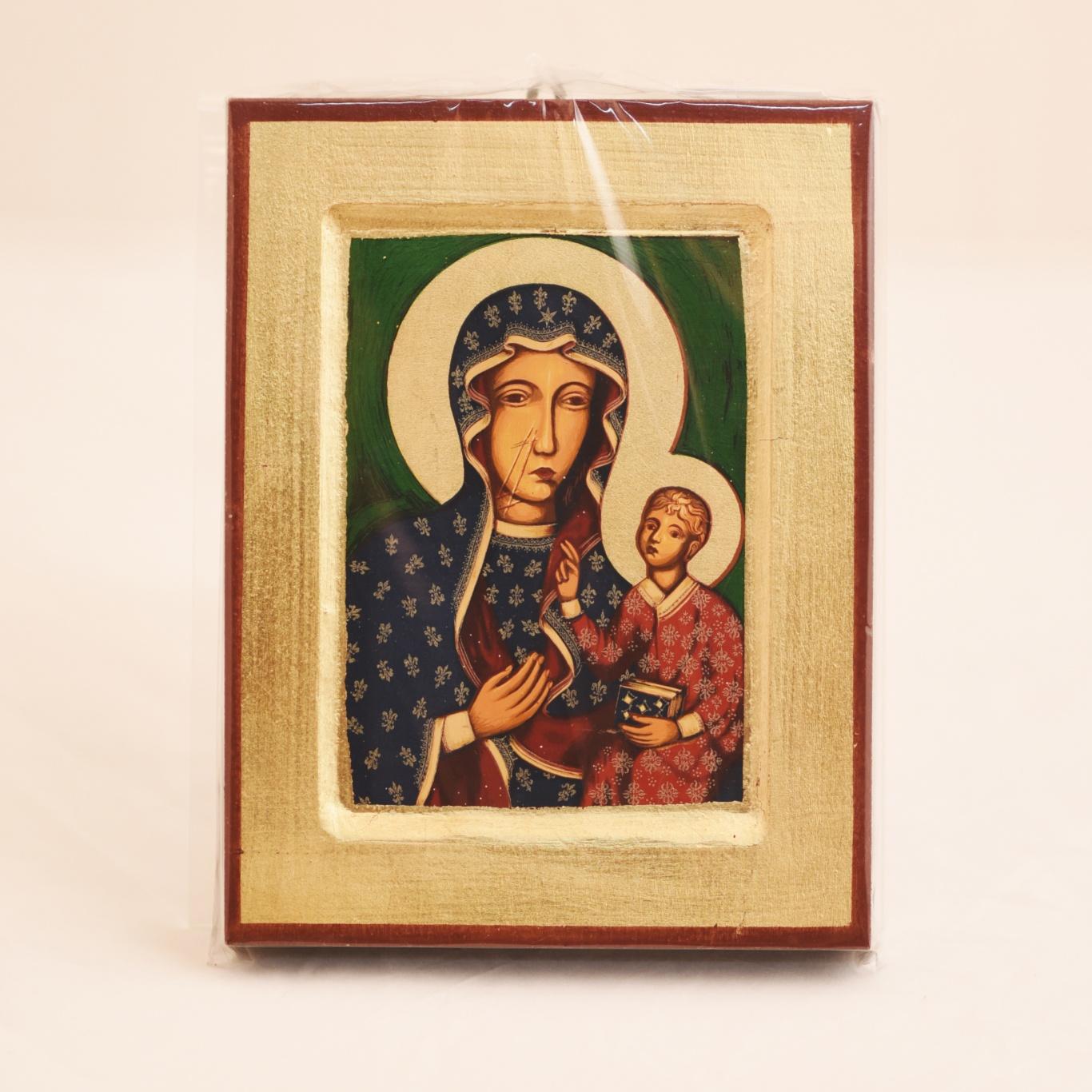 Ikona grecka Matki Bożej Częstochowskiej