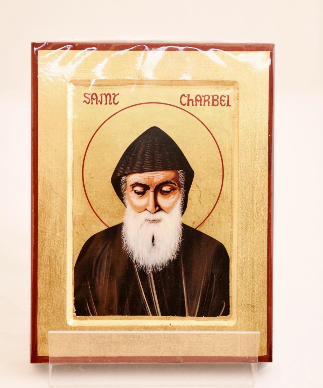 Ikona grecka św. Charbel