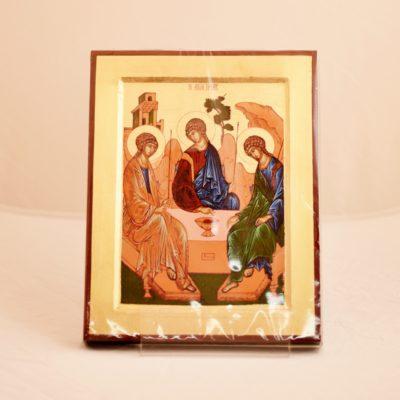 Ikona grecka Trójca Święta