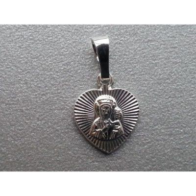 Medalik srebrny Matka Boża Częstochowska
