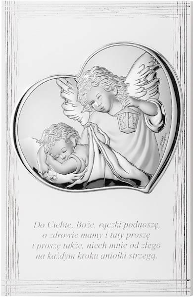 Obrazek srebrnyAnioł Stróż