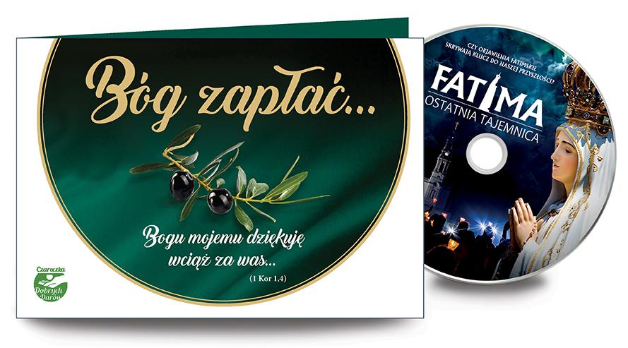 """Bóg Zapłać z filmem DVD """"Fatima. Ostatnia tajemnica"""""""