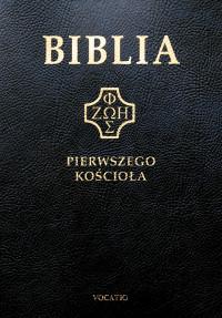 Biblia pierwszego Kościoła, czarna ze złoceniami