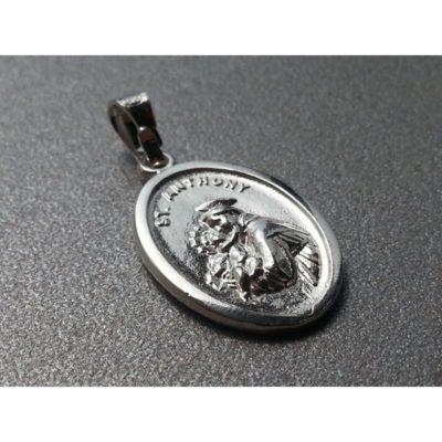 Medalik srebrny św. Antoni