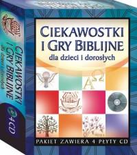 Ciekawostki i gry biblijne dla dzieci.. (4 CD)