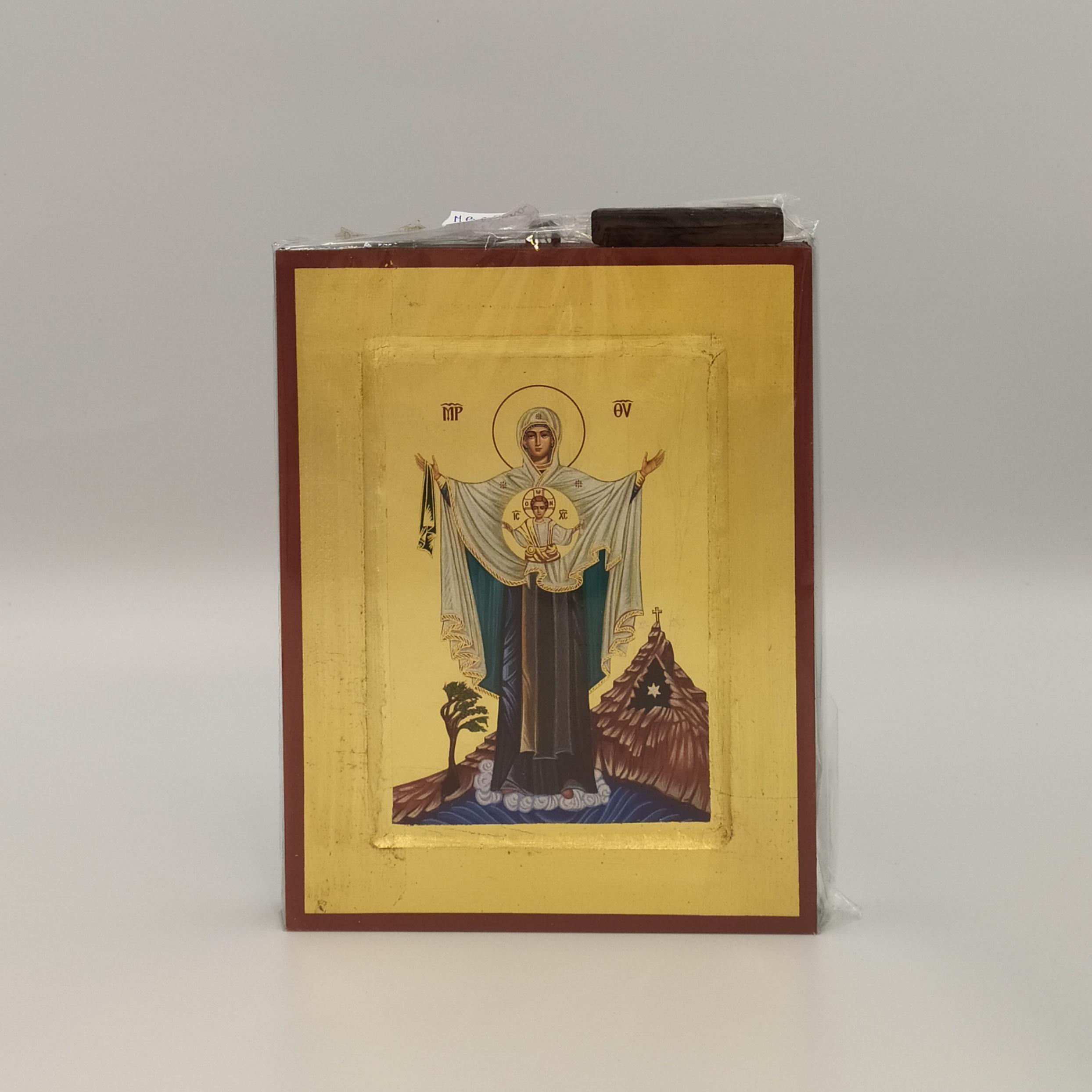 Ikona grecka MB z Góry Karmel (Szkaplerzna)
