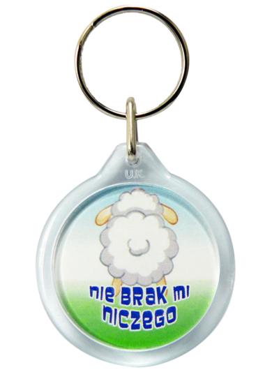 "Brelok ""Pan jest moim Pasterzem"""