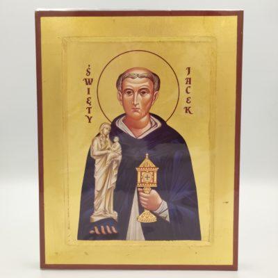 Ikona grecka św. Jacek