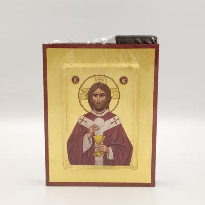 Ikona grecka Jezus Najwyższy Kapłan
