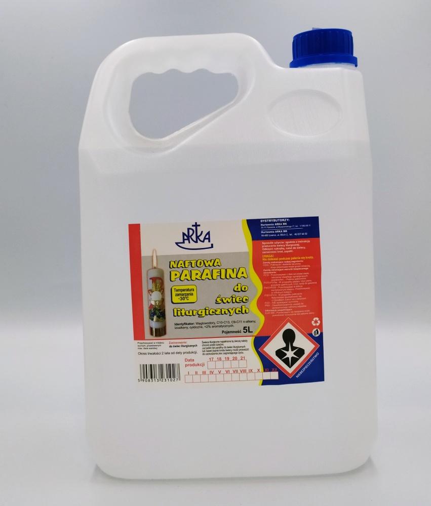 Olej parafinowy 5l