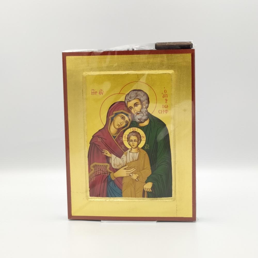 Ikona grecka Święta Rodzina