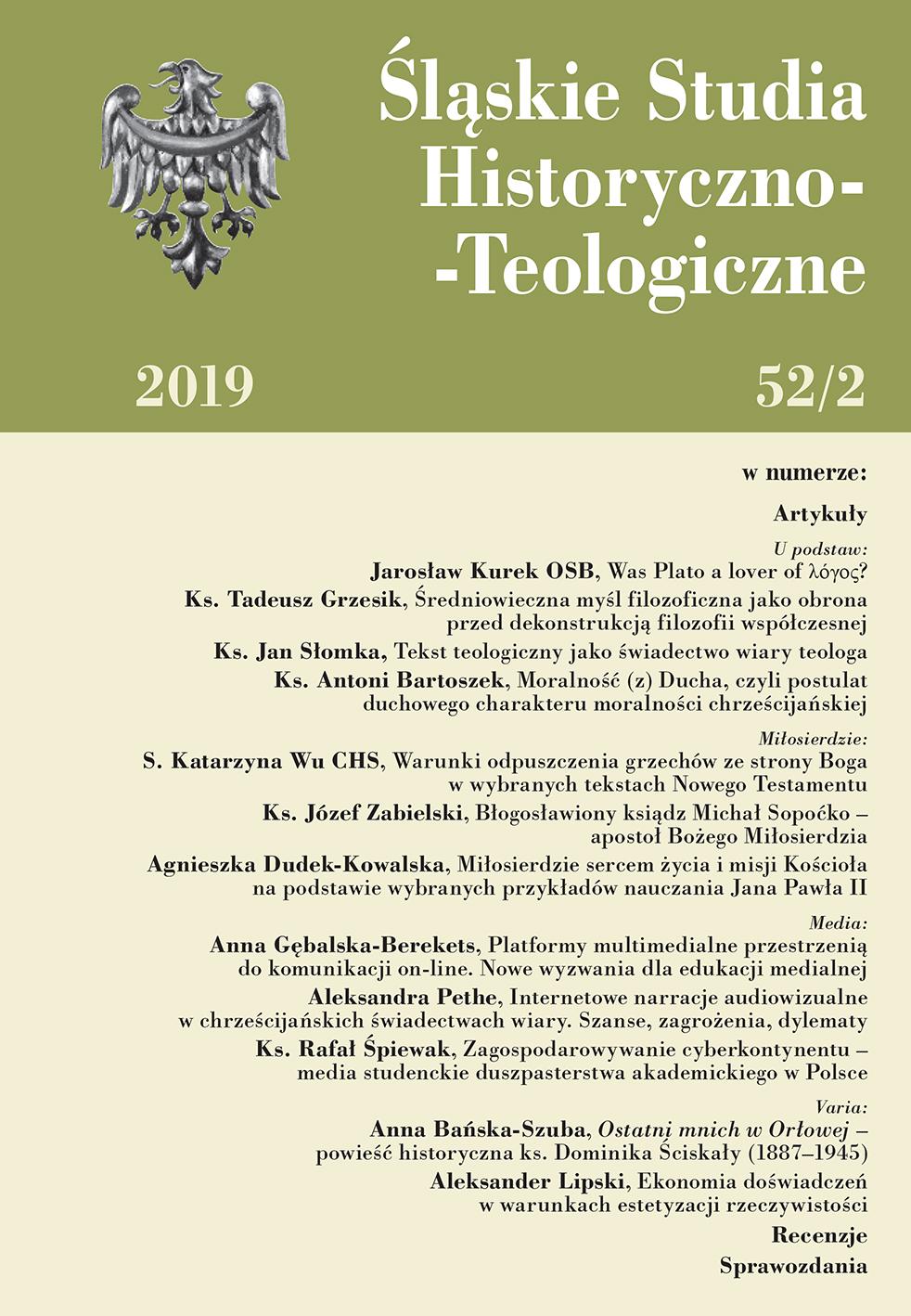 Śląskie Studia Historyczno-Teologiczne 52/2