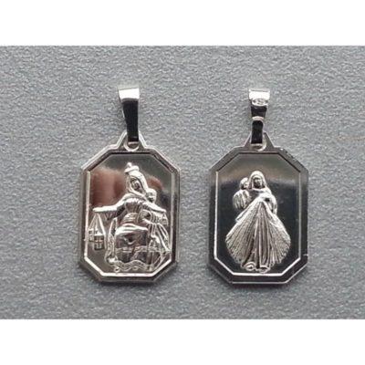 Medalik srebrny MB Szkaplerzna