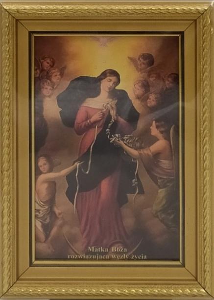 Obrazek - Matka Boża Rozwiązująca Węzły