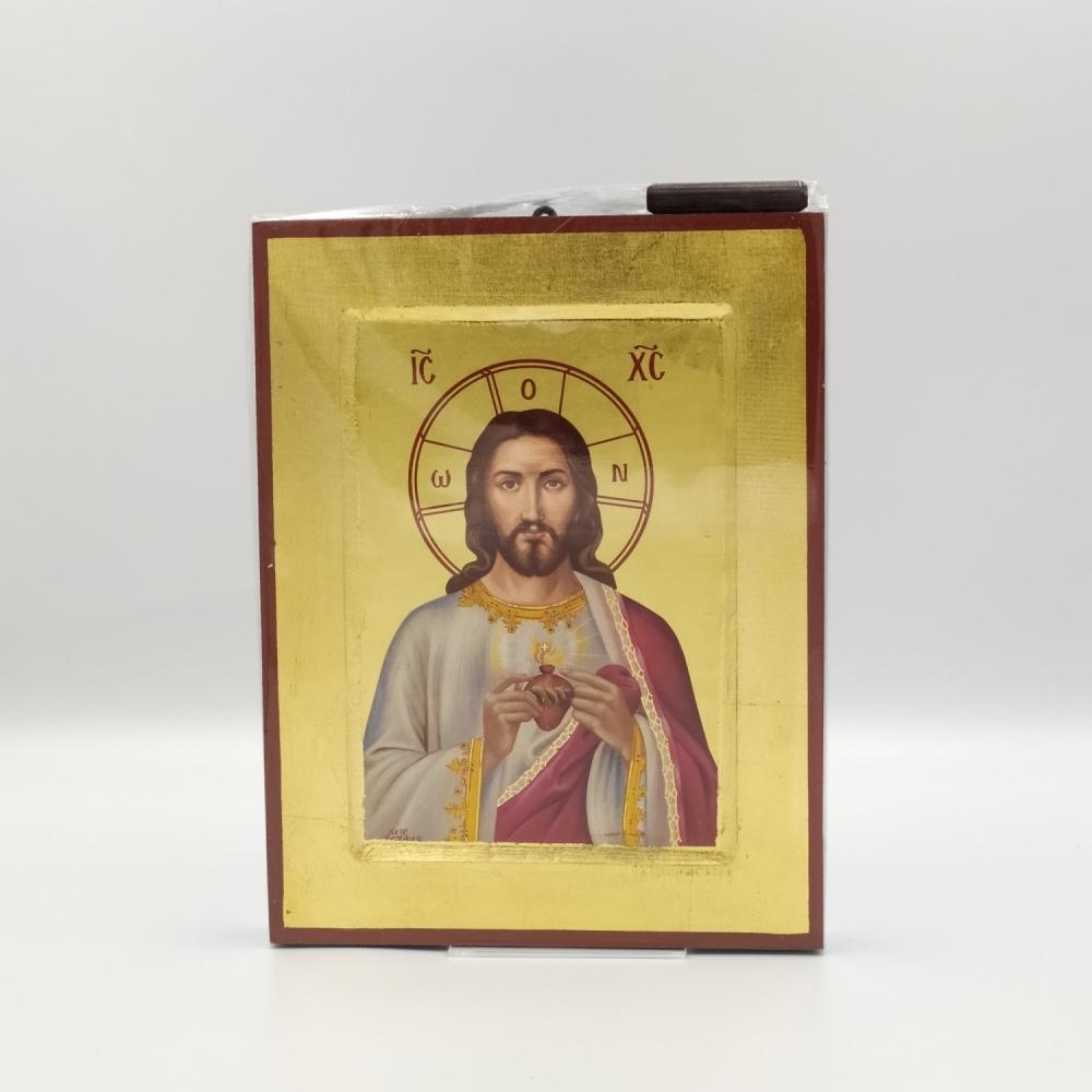 Ikona grecka Serce Jezusa
