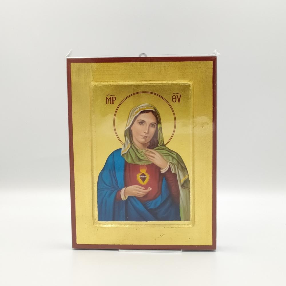Ikona grecka Serce Maryi