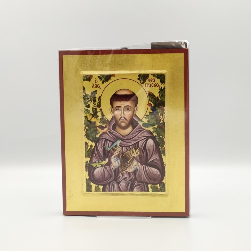 Ikona grecka św. Franciszek