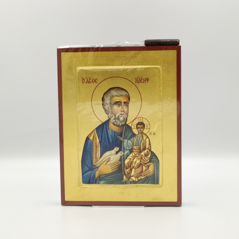 Ikona św. Józef grecka