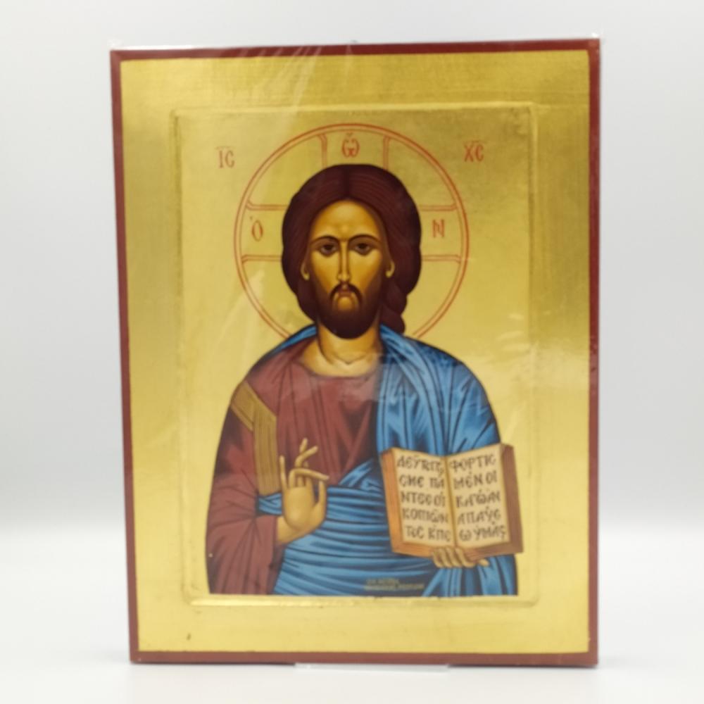 Ikona grecka Jezus Pantokrator