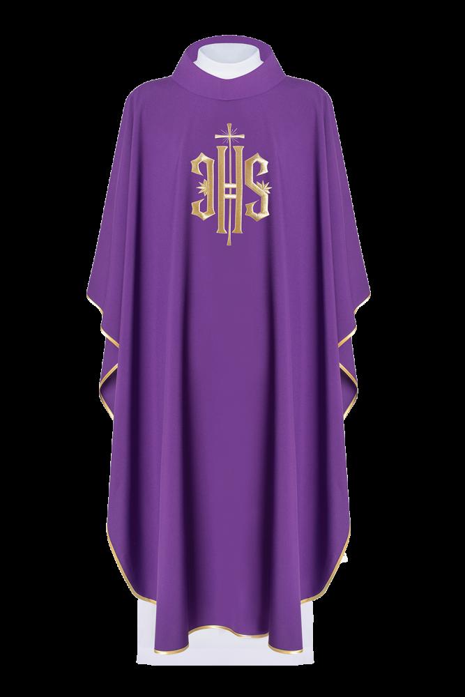 Ornat haftowany (fioletowy)