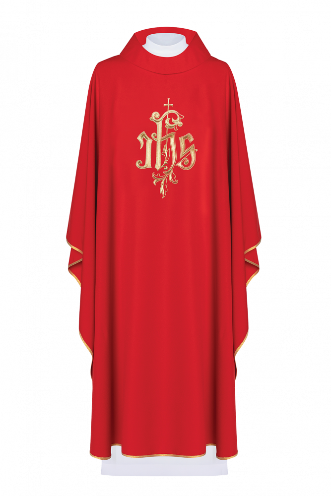 Ornat haftowany (czerwony)