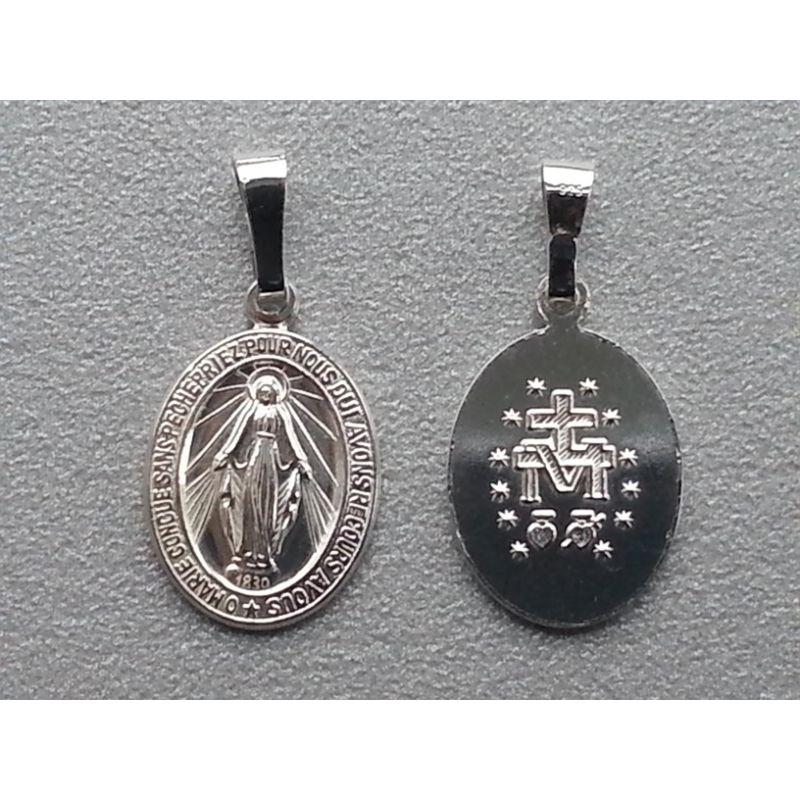 Medalik srebrny MB Niepokalana