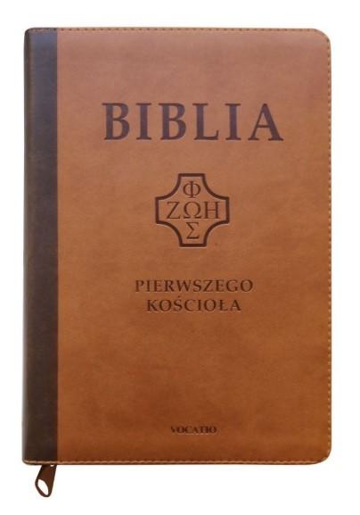 Biblia Pierwszego Kościoła - ciemnobrązowa