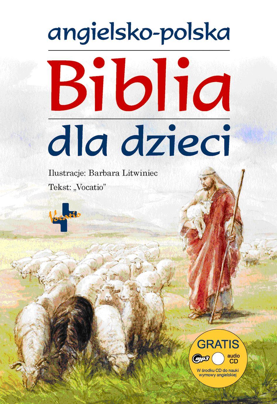 Biblia dla dzieci - Angielsko-polska