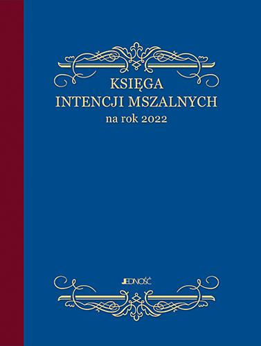 Księga intencji mszalnych 2022