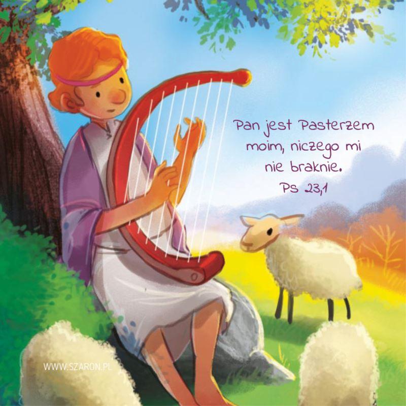 Podstawka korkowa - Pan jest pasterzem moim